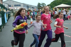 Le Cheile Educate Together NS Olympic Torch Run 2012