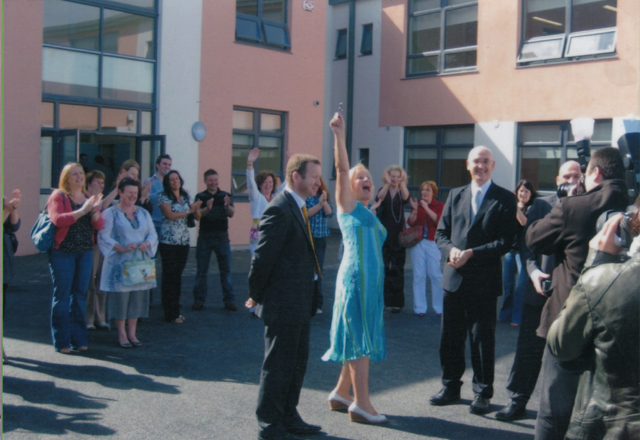 Aug 24th 2009 - Key Handover.