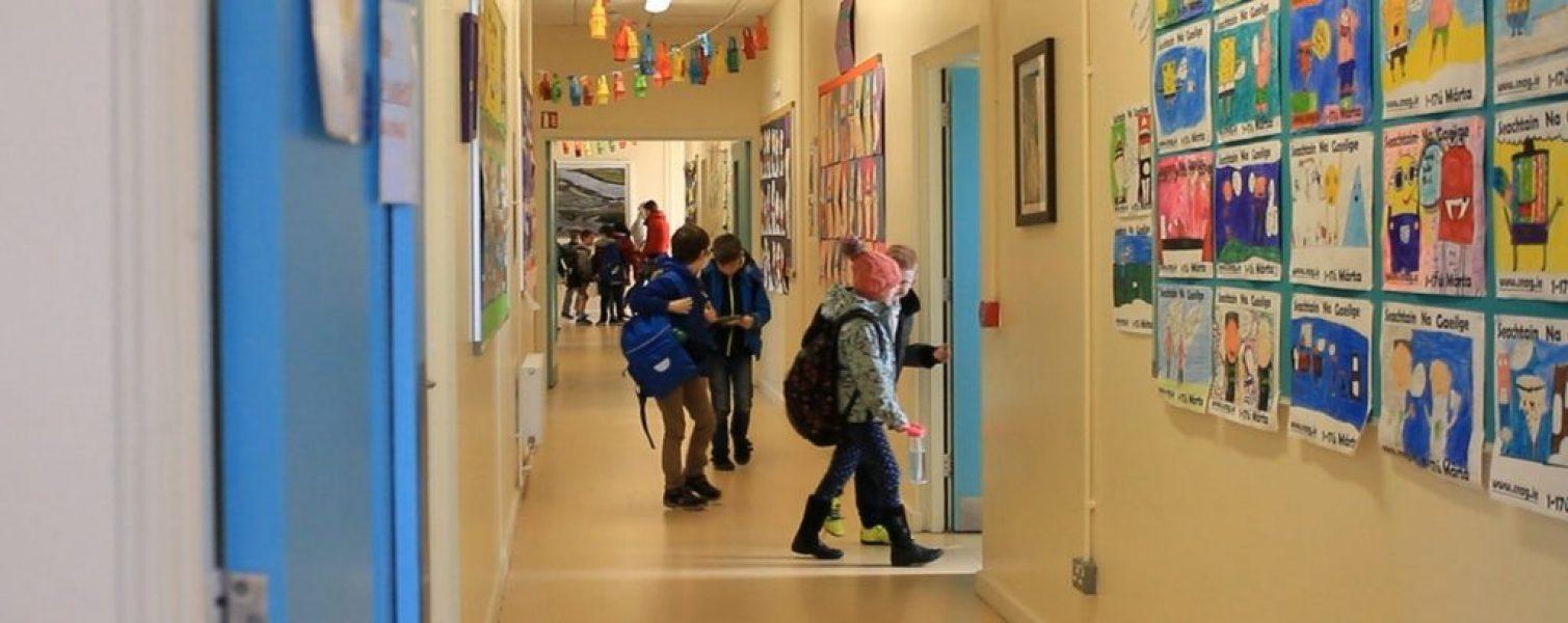 Le Cheile ETNS School Hallways