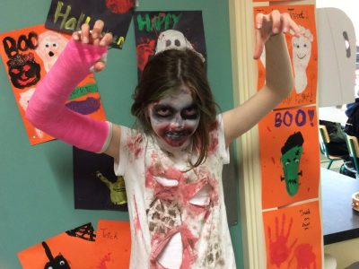Halloween at Le Cheile ETNS