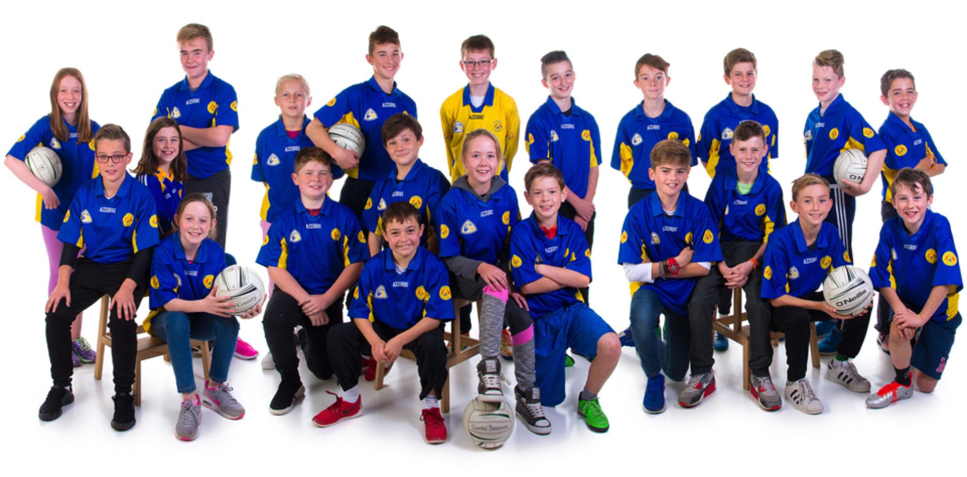 Le Chéile School GAA Team