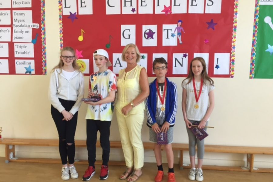Le Chéile's Got Talent! The John Whelan Memorial Trophy Winners