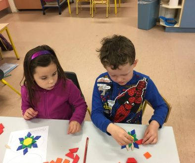 Maths week and Halloween activities in Senior Infants