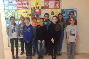 Le Cheile students attending presidential inauguration