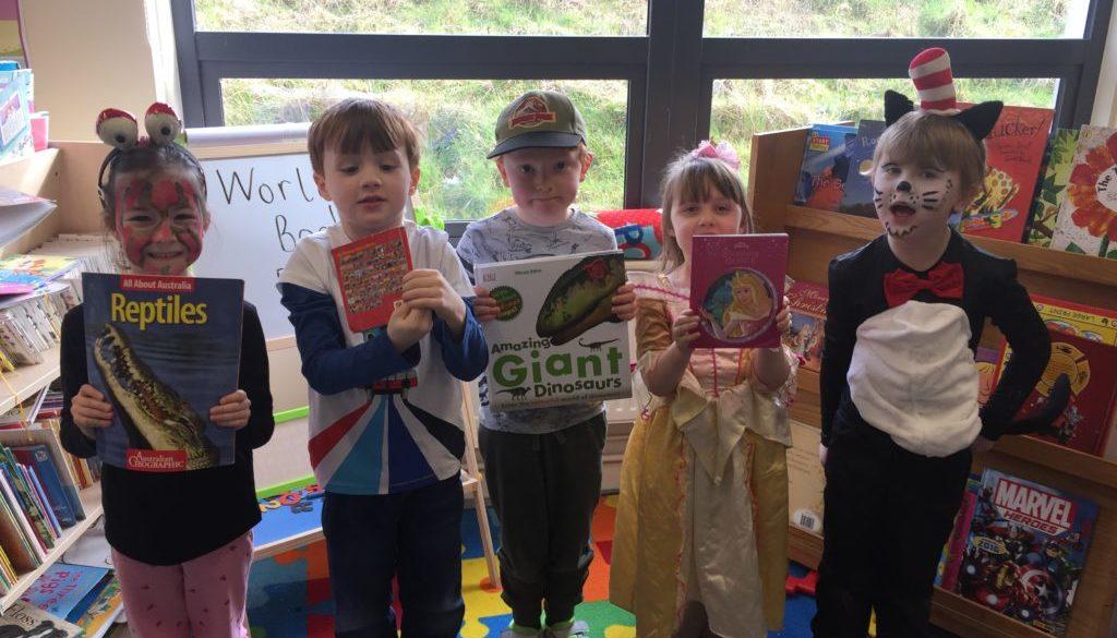 Junior Infants Celebrated World Book Day!