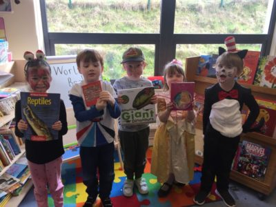 Junior Infants Celebrated World Book Day!