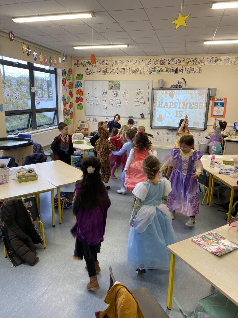 Claire's Class Celebrate World Book Day